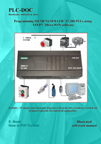 Programming SIEMENS SIMATIC S7-200 PLCs using Step7-Micro/Win software